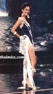 รวมชุดว่ายน้ำของนางงามไทยบนเวที Miss Universe (อดีต-ปัจจุบัน) : ปี 1994 คุณอารียา  ชุมสาย