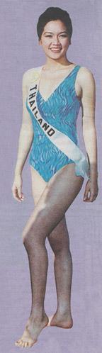 รวมชุดว่ายน้ำของนางงามไทยบนเวที Miss Universe (อดีต-ปัจจุบัน) : ปี 1995 คุณภาวดี วิเชียรรัตน์