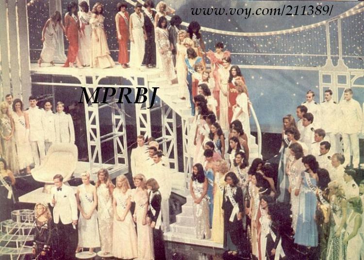 เวทีสวยๆในการประกวดนางงามจักรวาลแต่ละปีแต่ละประเทศ ( Miss Univers ) : เวที MU 1981 จัดที่ New York City