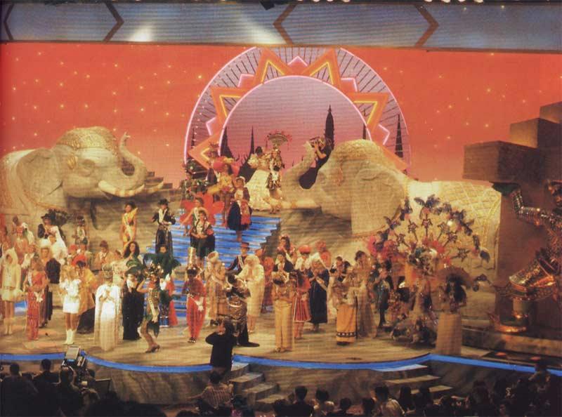 เวทีสวยๆในการประกวดนางงามจักรวาลแต่ละปีแต่ละประเทศ ( Miss Univers ) : เวที MU 1992 อีกครั้ง