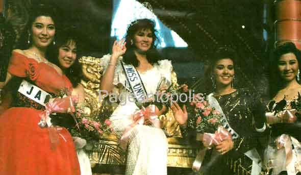 """นางสาวไทยปี 2531 เธอคือ """"ภรณ์ทิพย์ นาคหิรัญกนก""""  ตำนานและเป็นปีที่น่าจดจำในประวัติศาสตร์นางสาวไทย??? : พี่ปุยไป MU"""
