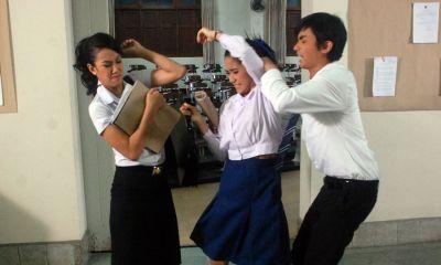รวมฉากจูบ และ ฉากตบในละครไทย : แอริณ ปะทะ เมย์ในชิงชัง