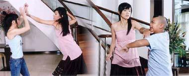 รวมฉากจูบ และ ฉากตบในละครไทย : กบ โหดในสะใภ้ทอร์นาโด
