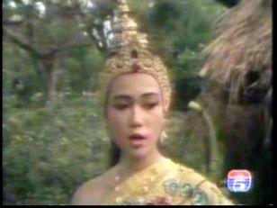 มาดูนักแสดงสาวสวย ละครพื้นบ้าน ว่าใครแต่งตัวชุดไทยในละครสวยที่สุด : สินี   หงษ์มานพ จากละครแก้วหน้าม้า ปี 2533