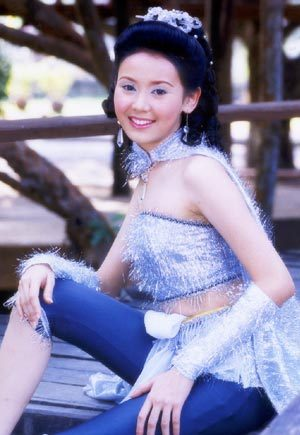 มาดูนักแสดงสาวสวย ละครพื้นบ้าน ว่าใครแต่งตัวชุดไทยในละครสวยที่สุด : ศิริวัฒนา  เบญจมาธิกุล จากละครเรื่อง สี่ยอดกุมาร ปี 2544