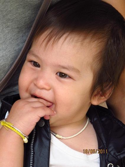 น้องฑีฆายุ ลูกใครหนอพ่อแม่ช่างปั้น :
