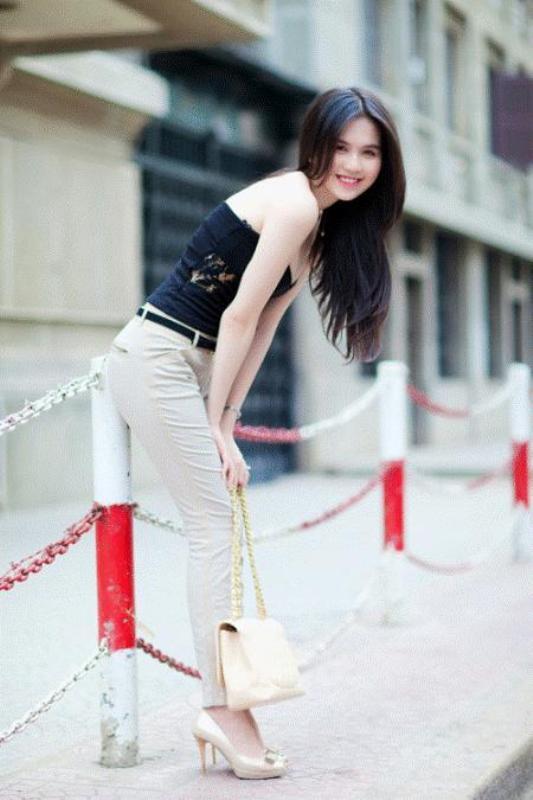 Ngoc Trinh นางแบบเวียดนาม :