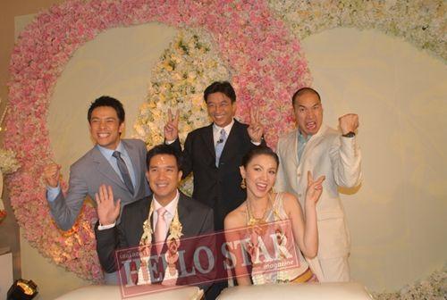 5 งานแต่งดารา....ทอล์คออฟเดอะทาวน์ :