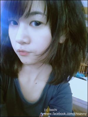 สาวสวยน่ารัก จาก Facebook : โบชิ ><