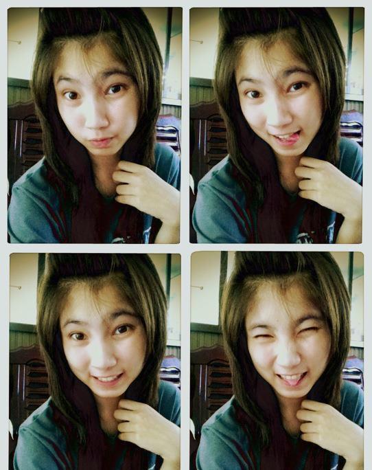 สาวสวยน่ารัก จาก Facebook : มิ้นท์ วัดป่า' ใสมากตัวจริง