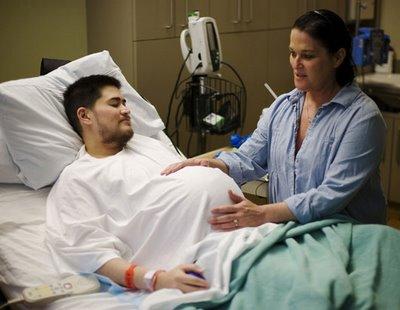 ผู้ชายท้องได้ ประกาศแยกทางภรรยาแล้ว :