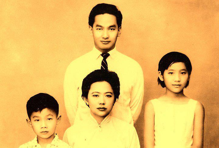 เจ้าจายหลวง เจ้าฟ้าองค์สุดท้ายของนครเชียงตุง : ภาพครอบครัว ของเจ้าจายหลวง