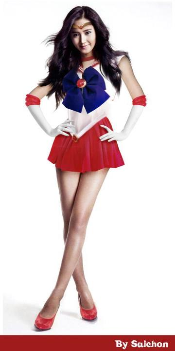 Girl's Generation as Sailor Moon