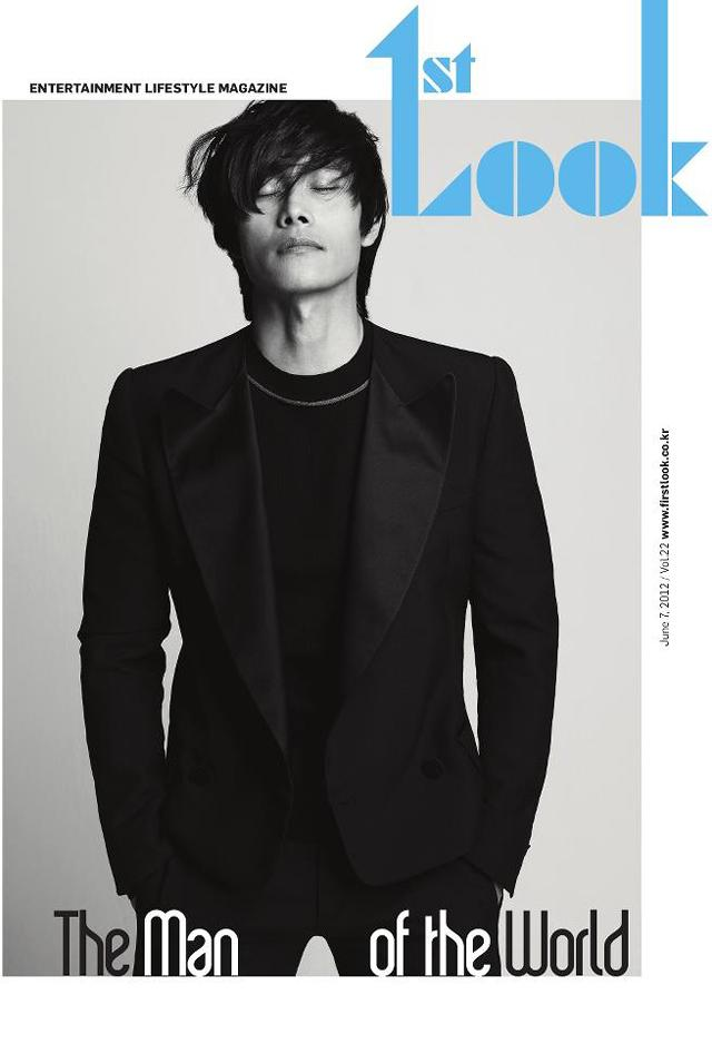 Lee Byung Hun @ 1st Look Magazine June 2012 :
