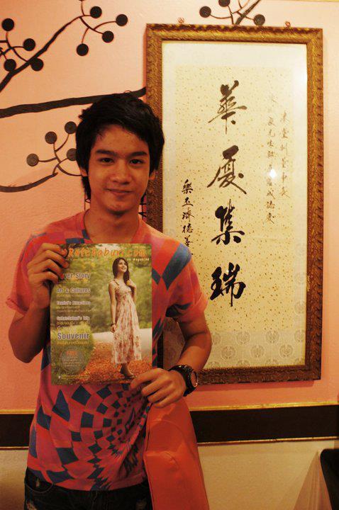 วิคเตอร์ กฤชพล จารุศักดิ์ พระเอกตอนเด็กในละคร ปิ่นอนงค์ :