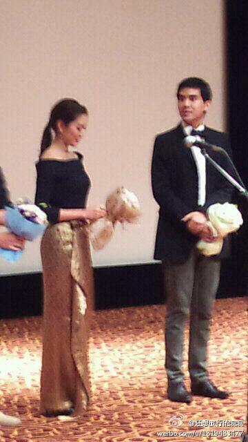 แอฟ ออม เต๋อ @ เทศกาลภาพยนตร์นานาชาติเซี่ยงไฮ้ ครั้งที่ 15
