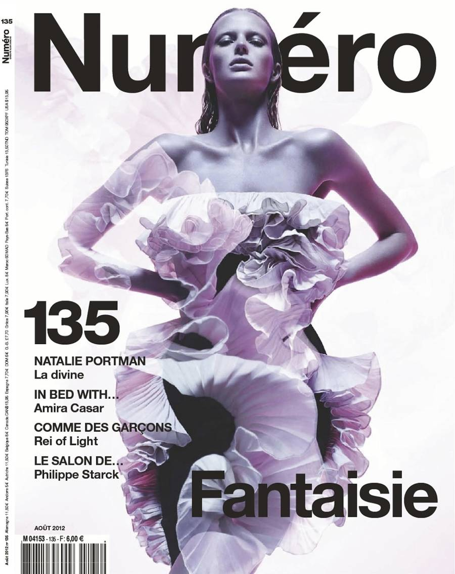 Anne Vyalitsyna @ Numero France August 2012 :
