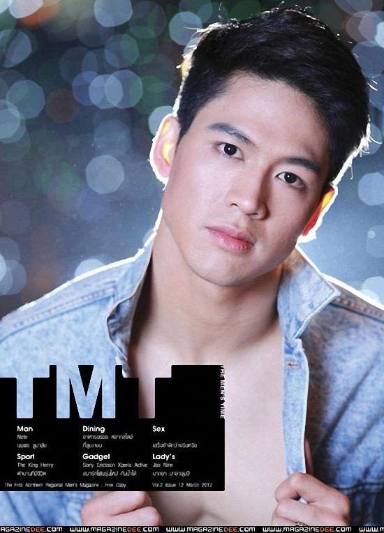 โน็ต-นพพร ชูมาลัย @ THE MEN'S TIME vol.2 no.12 March 2012 :
