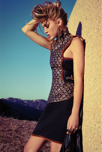 Miley Cyrus ถ่ายแบบให้กับนิตยสาร Marie Claire! :
