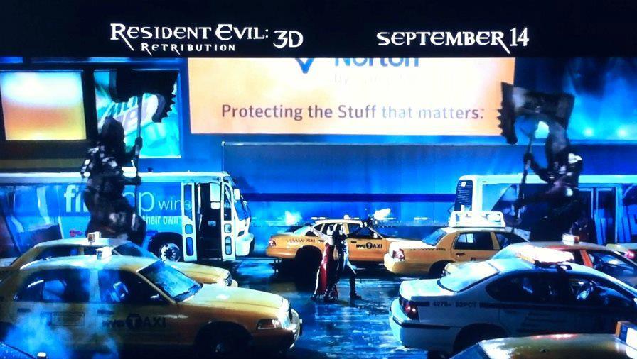 Resident Evil Retribution  ภาพหลุด เอด้าและอลิช