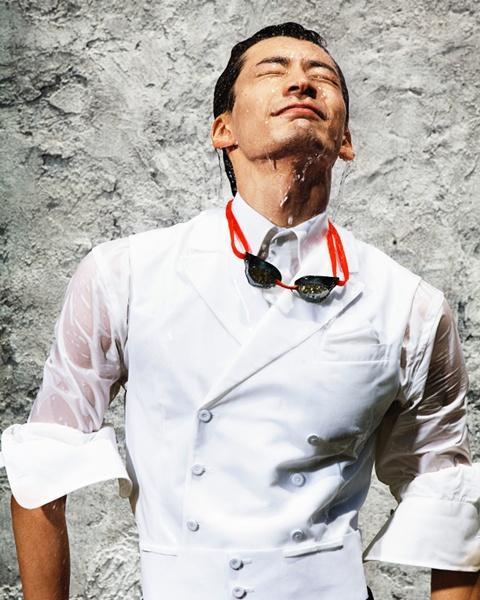 Ryosuke Irie @ GQ Japan August 2012 :