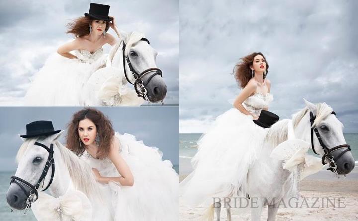 แมท ภีรนีย์ คงไทย @ BRIDE vol.27 no.6 August 2012 :