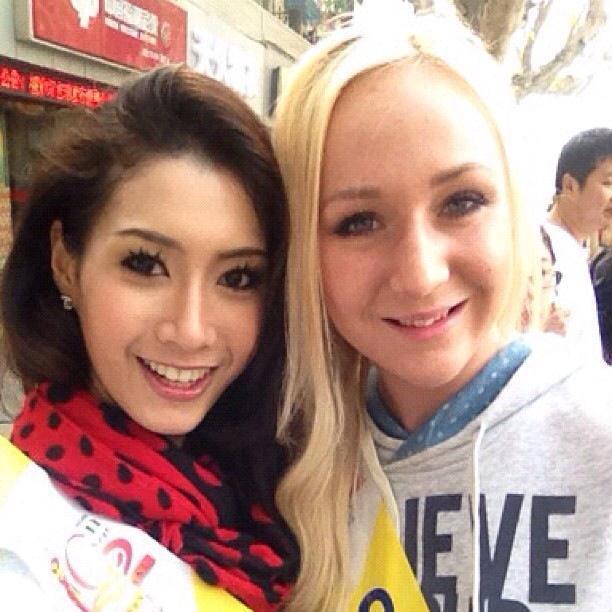 ประมวลภาพ พรภัสสร อัตถปัญญาพล ในการประกวด Miss Tourism Queen of the Year International ที่จีน (17 พ.ย.55) :