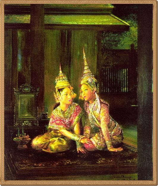 หญิงไทยแท้ๆ ภาพวาด :