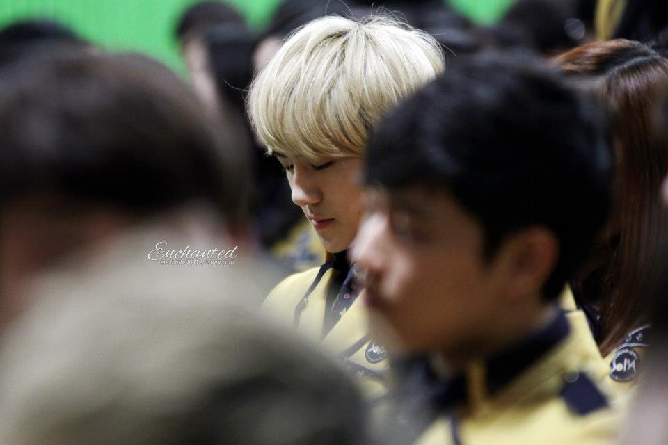 เซฮุน น้องเล็กแห่ง Exo-k จบมัธยม :
