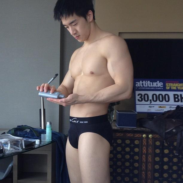 จัดป่ะ24 นายแบบกางเกงชั้นในเอเชีย แซ่บ.. บ่องตง :