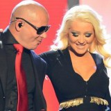 Christina Aguilera & Pitbull @ Billboard Music Awards 2013