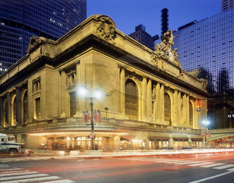 สถานีรถไฟ(Train/Railway Station/Terminal) Train Series 4 : Grand Central Terminal, NYC, USA