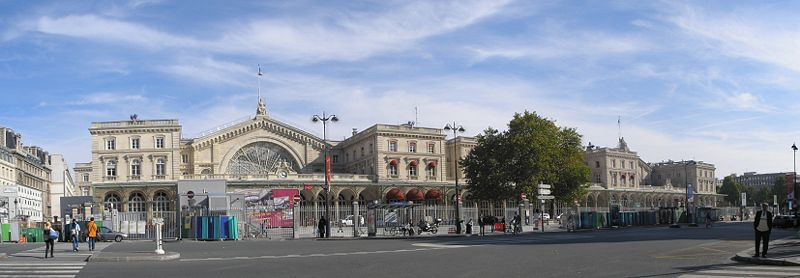 สถานีรถไฟ(Train/Railway Station/Terminal) Train Series 4 : Gare de Paris-Est, Paris, France