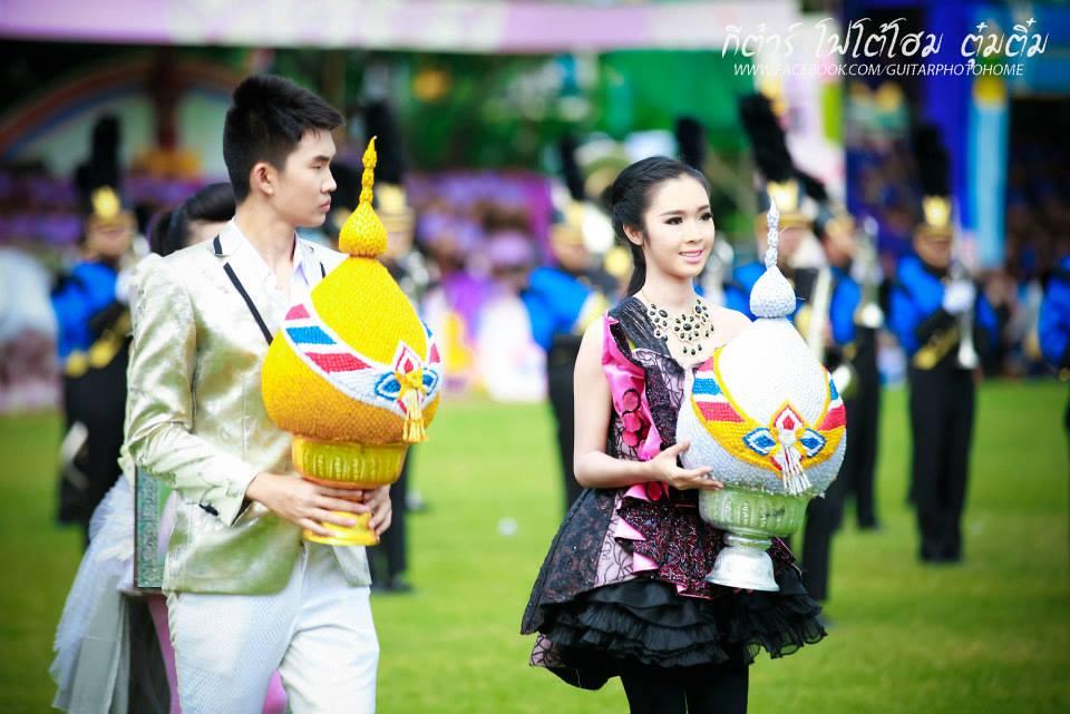 กีฬาสี รร.วิสุทธรังษี จ.กาญจนบุรี ยิ่งใหญ่อลังการงานสร้างจัดเต็มสุดๆ