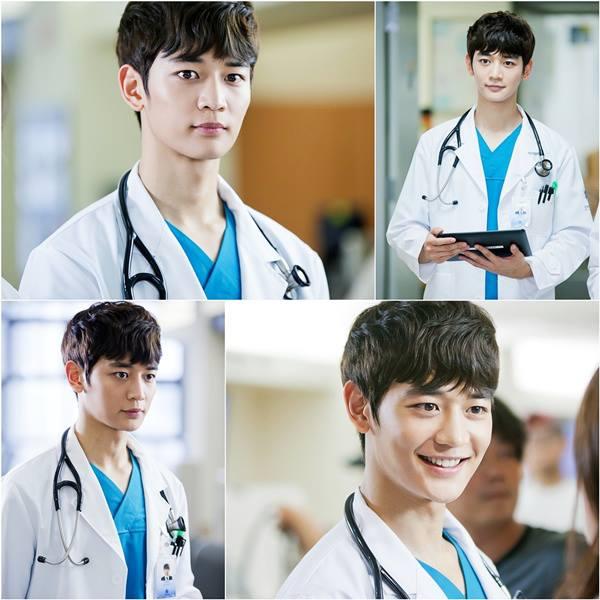 ซีรี่ย์เรื่องใหม่ของ minho shinee เรื่อง Shines in a Doctor′s Gown for ′Medical Top Team′ :