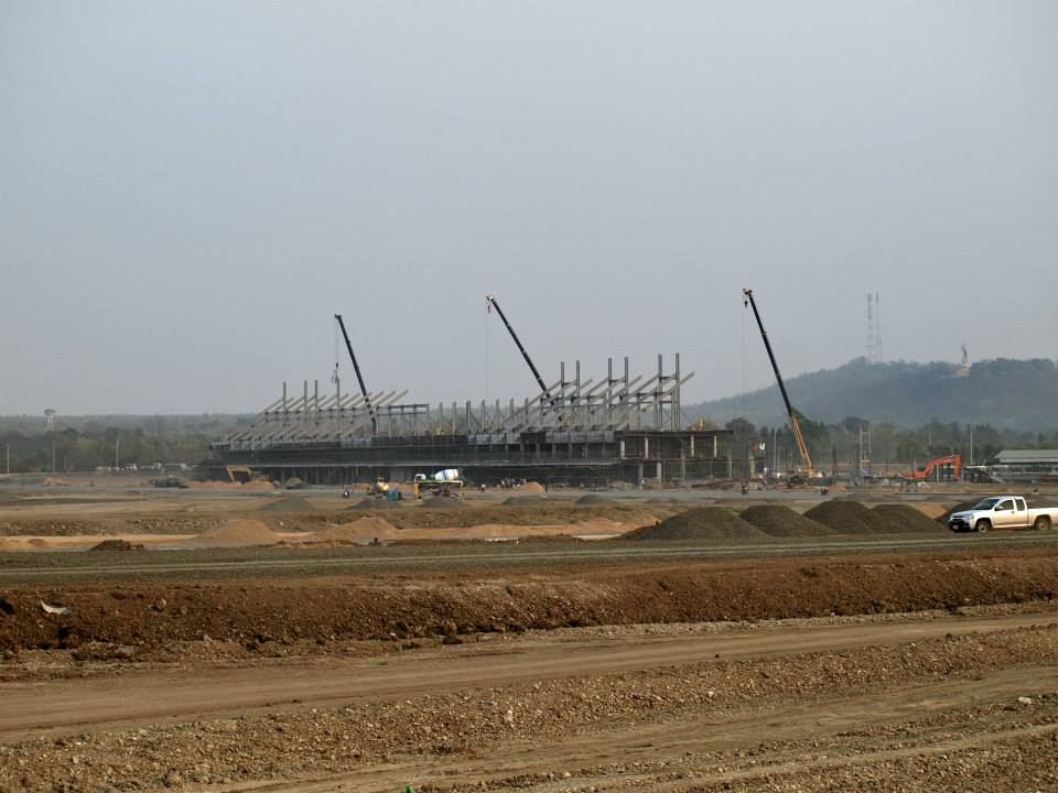 อัพเดทการก่อสร้างสนามแข่งรถบุรีรัมย์ อภิมหาโปรเจคของเมืองไทย :