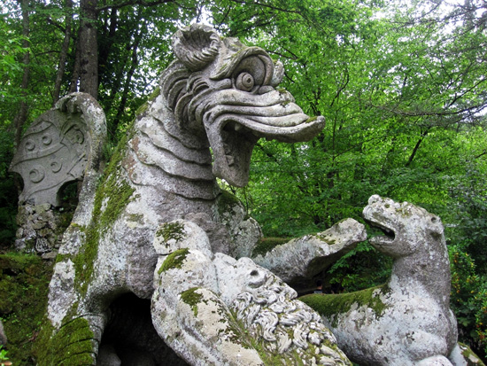 สวนสัตว์ประหลาด ที่ ลาซิโอ